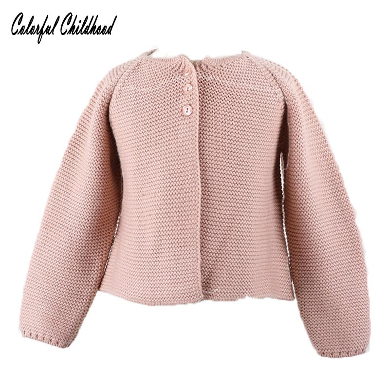 - 0-24m Baby Cardigan girls Jacket 2018 Spring knited Outwear For Children tops toddler kids clothing autumn -   jetcube