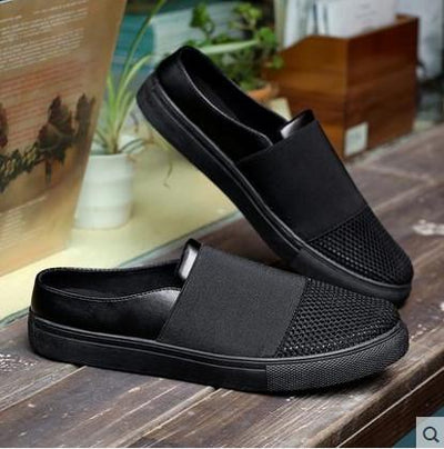 Shoes Mens Summer Shoes Sandals 2017 New Breathable Men Slippers Mesh Lighted Casual Shoes Slip On Shoes Beach Flip Flops Buy Now