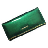 100% Genuine leather Cowhide Women's Wallets Patent Leather Long Ladies Wallets Clutch Design Purse Hand Bags Women Purses  UpCube- upcube