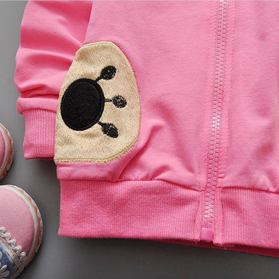 0-2 year old male and female baby fashion new cotton long-sleeved jacket + free gift  UpCube- upcube