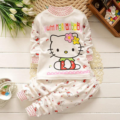 2017 Autumn Baby Boy Girl Clothes Long Sleeve Top + Pants 2pcs Sport Suit Baby Clothing Set Newborn Infant Clothing Bebe
