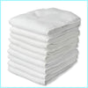 - ( 5 Pieces A Lot) Baby Cloth Diaper Microfiber Insert 3 Layers Microfiber Liners -   jetcube