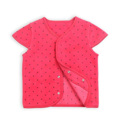 - 0-3 Years-Old Baby Girls Tops Fleece Jacket Toddler Girl Fleece Coat Outerwear in Spring Autumn - Red / 12M  jetcube