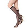 - 1 Pair Hot sale Summer Sexy Women Knee Highs Socks Comfortable Cool Stocking Black/Nude Color bas femme -   jetcube