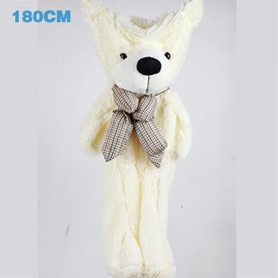 - 180cm Teddy Bear Skins Plush Soft Toy Dolls Giant empty Bear animal skins shell for kids Cute Peluche Animal Stuffed Toys Gifts - white  jetcube