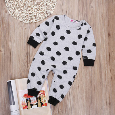 - 016 new born clothes baby boy clothes Long sleeve baby romper baby girl clothing jumpsuit toddler suit infant clothing s -   jetcube