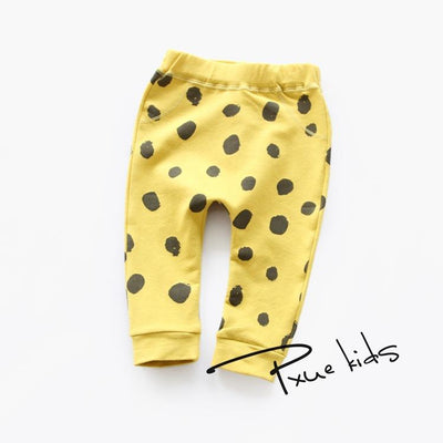 - 0-2 Yrs Baby pants 2016 new Spring/Autumn Baby boy trousers Monster terry casual harem baby leggings infantis - Gold / 12M  jetcube
