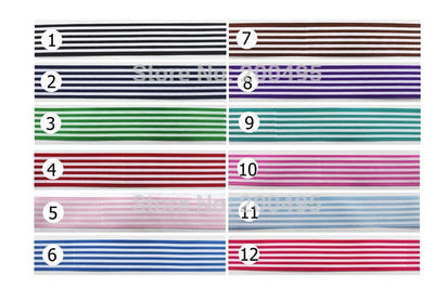 "- 10 yards 1""(25mm) Stripe Grosgrain Ribbon Printed ribbons DIY Hairbow Accessories -   jetcube"