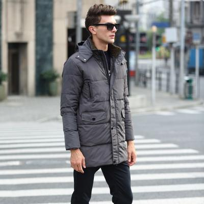 - 180CM chest obese medium-long down coat winter thickening casual men's jacket obese plus size5XL 6XL 7XL 8XL9XL10XL11XL12XL13XL -   jetcube