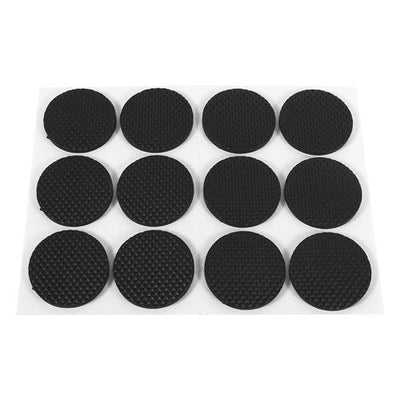 - 2-48Pcs Protecting Furniture Leg Feet TRP Rubber Pads Felt Pads Anti Slip Self Adhesive For Chair/Table/Desk/Wooden floor -   jetcube