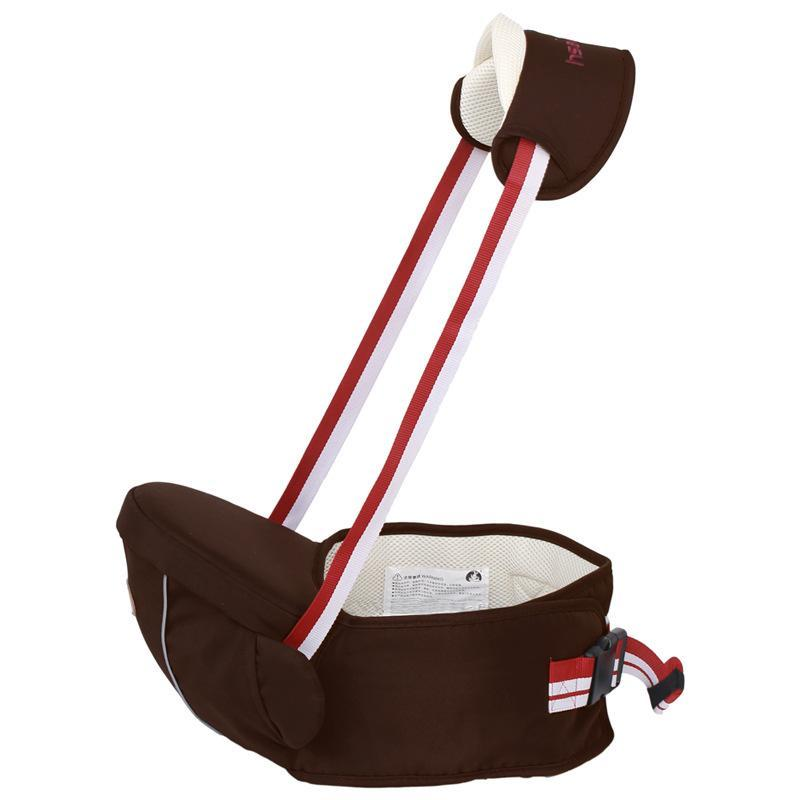 - 0-36m Ergonomic Baby Carrier Waist Stool Kangaroo Suspenders Backpack Baby Sling Hipseats Kids Infant Waist Straps Hip Seat Warp - Brown / OneSize  jetcube