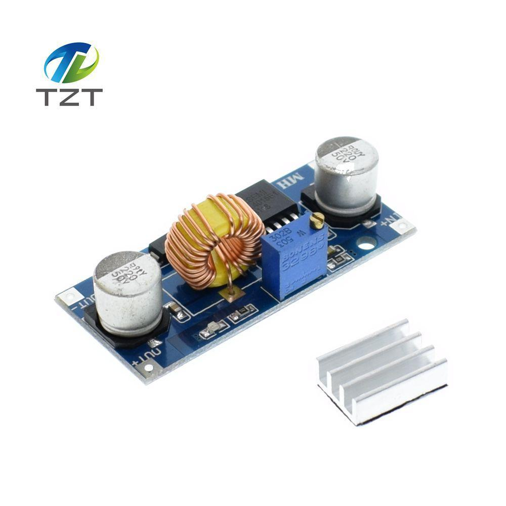 5pcs 5a Xl4015 Dc Step Down Adjustable Power Supply Module Led Lithium Charger Upcubeshop
