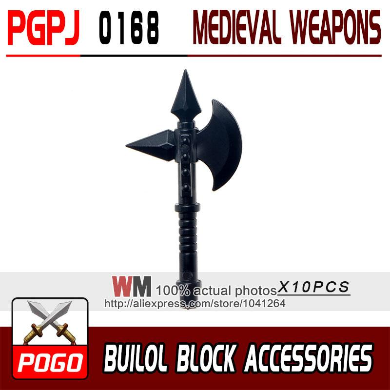 - 10pcs/lot Latest Rome Knight Weapon Sword Accessories Building Blocks Bricks Medieval Knight Weapons - PGPJ0168  jetcube