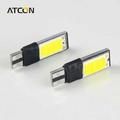 - 1 X White High Power CANBUS T10 W5W 194 192 168 COB Car Auto LED lamp bulb Interior Singnal Fog Parking No Error Clearance light -   jetcube