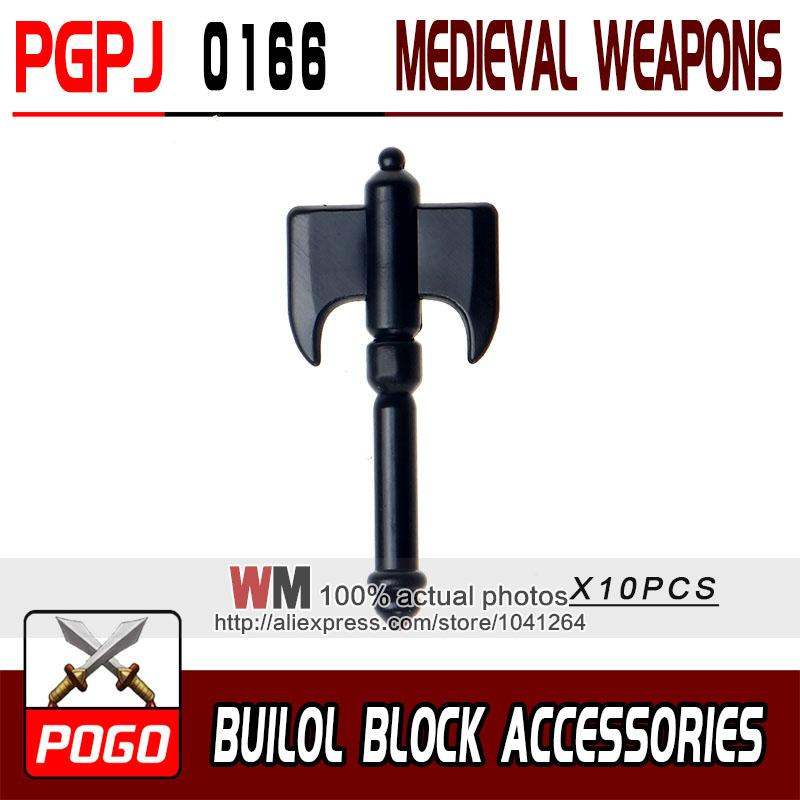 - 10pcs/lot Latest Rome Knight Weapon Sword Accessories Building Blocks Bricks Medieval Knight Weapons - PGPJ0166  jetcube