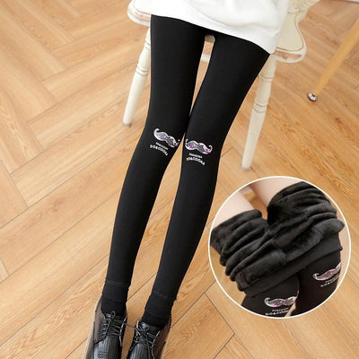 - 10 style New product 2016 Thick Warm Women Leggings Cute funny Fashion Leggings Sexy Large elastic girls trousers Pants -   jetcube