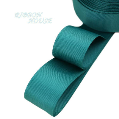 "- (5 meters/lot) 1"" (25mm) Grosgrain Ribbon Wholesale gift wrap Christmas decoration ribbons - Atrovirens  jetcube"