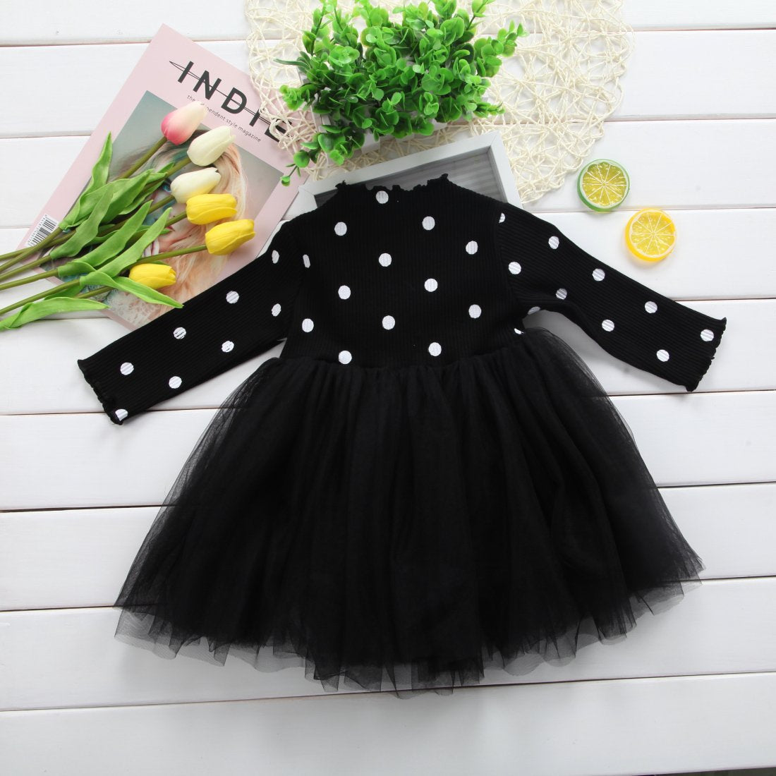 - 0-4T Kid Girls Princess Baby Dress Newborn Infant Baby Girl Clothes Bow Dot Tutu Ball Gown Party Dresses Baby Kid Girl clothes -   jetcube