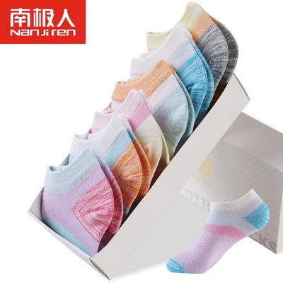 2017 New 6Pairs/Lot Girl Cotton Socks Women Ankle Soft Invisible Breathable Short Socks Hosiery Lady Socks