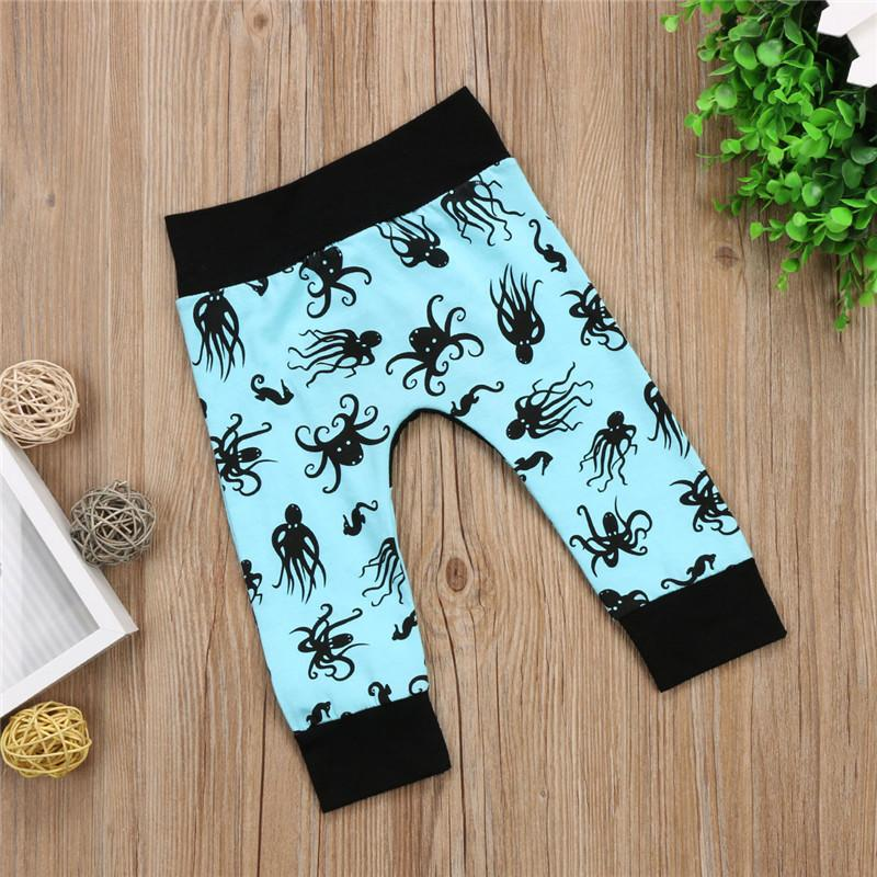 2017 Autumn Newborn Toddler Boys Pants Baby girls Harlan Pants Bottom Trousers Kids Baby Infant Boy Child Long Pants Age 0-24M