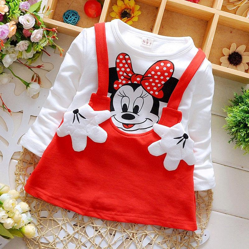- 0-2Y baby clothes brand sports cotton dress for spring autumn girl baby clothing 2017 birthday party tutu princess dresses dress - red / 0-3 months  jetcube