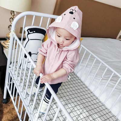 0-3 years 2018 New Wholesale Spring Cotton Hooded Baby Jackets 228TP0108  UpCube- upcube