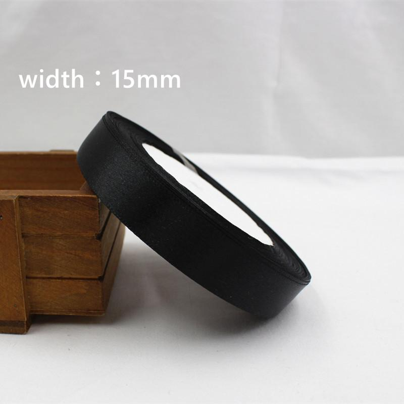 - 039 ,free shipping Wholesale 25 Yards Silk Satin Ribbon , Wedding decorative ribbons, gift wrap, DIY handmade materials - 15mm  jetcube