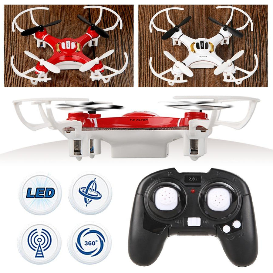 - 2 Colors 4 Channel 4 Axis Nano RC Quadcopter Small Quad Mini Drone UFO R/C Helicopter Toy Free Shipping -   jetcube