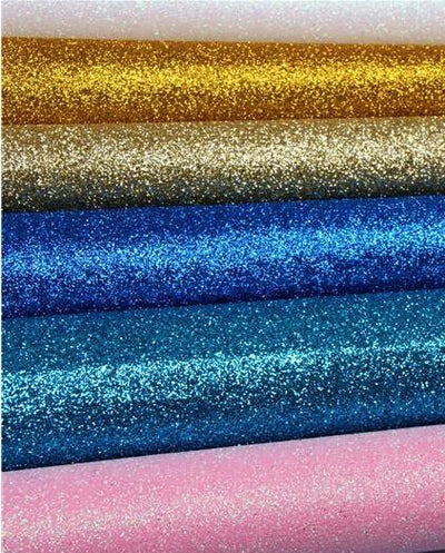 - 100*150cm DIY High Quality stiff Glitter synthetic Fabric 100X150CM PER PCS( Total 17 Colors Available) -   jetcube