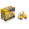 - 12 Kinds Original City Series Mini Transportation Block Car Building Blocks Compatible legoeINGlys Duplo Soliders Police Bricks -   jetcube