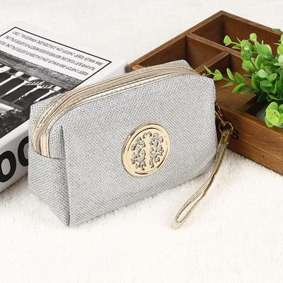 - 2016 Fashion Makeup Storage Bag Rural Style Floral Pencil Pen Case Cosmetic Bag Good Quality Travel Storage Zipper Bag H8803 -   jetcube