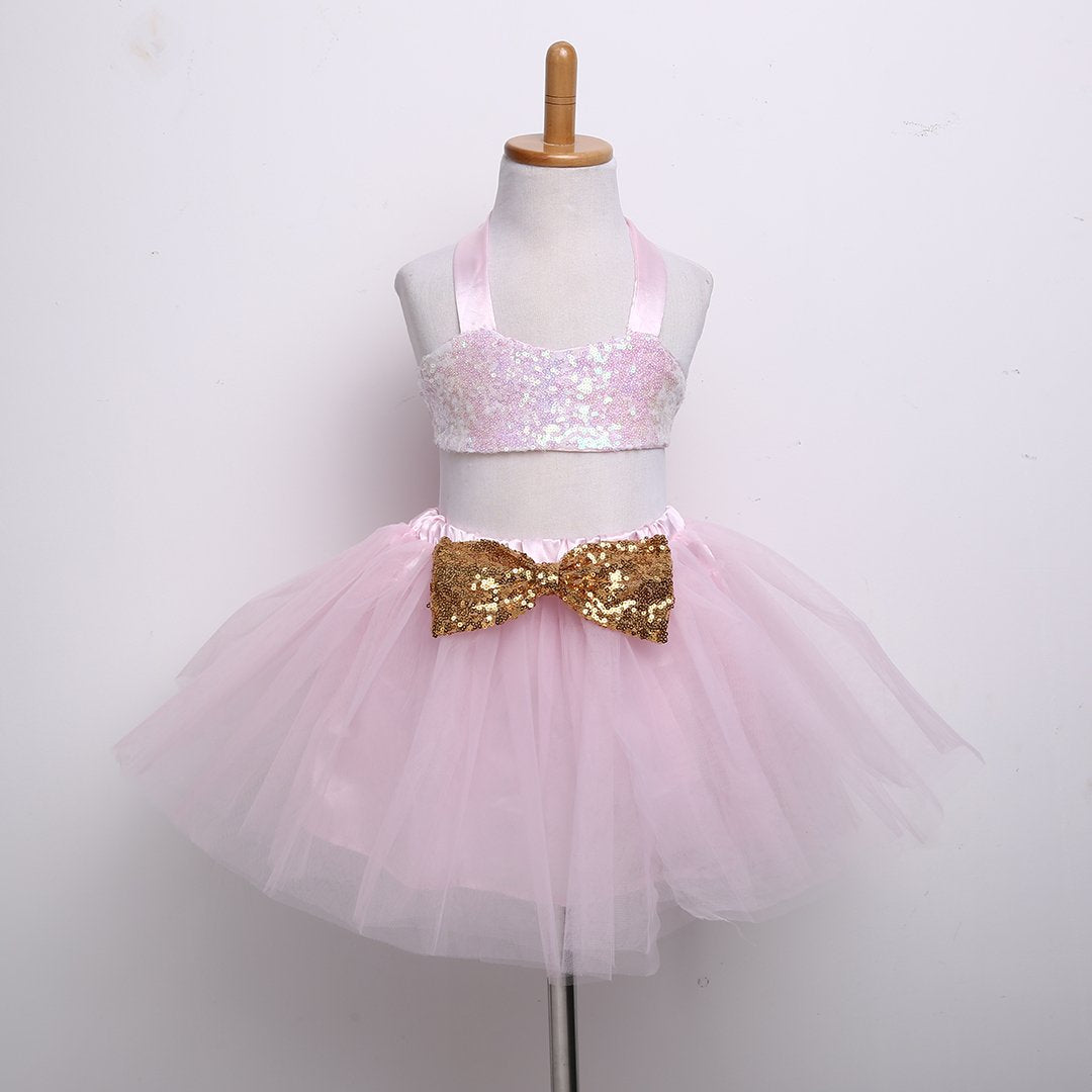 New Brand Kid Baby Girls Clothes Sequins Tops +Tutu Skirts 2PCS Baby Set  Little Girl 5e3b399e4