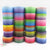 "(5yds per roll) 1""(25mm) gradient high quality printed polyester ribbon 5 yards,DIY handmade materials,wedding gift wrap,5Y49637"