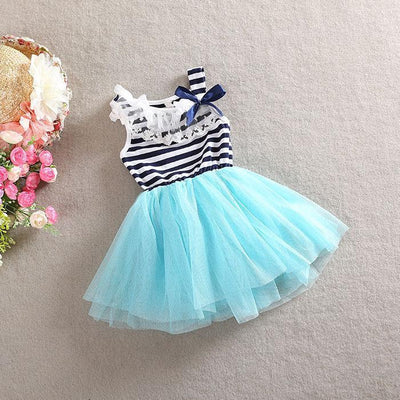2017 Girls Cute Lace Dresses Girl Princess Dress Children Summer Popular Clothing Kids New Clothes Free Shipping A036 Shipp  UpCube- upcube