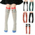 Fashion Children Girls 3D Cartoon Animal Over Knee High Long Socks Leg warmers
