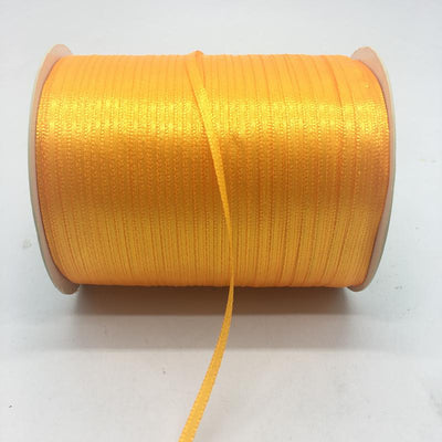 "- (20Yards/lot)1/8"" 3mm Silk Satin Ribbon Polyester Ribbon Wedding Christmas Party Decoration DIY Gift Packing - Gold  jetcube"