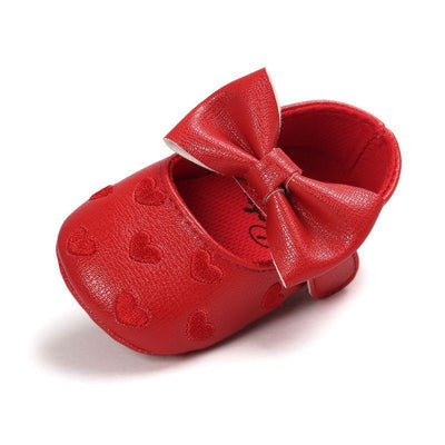 - 12 Colors Bebe PU Leather Baby Boy Girl Baby Moccasins Shoes Big Bow Embroidery Soft Soled Non-slip Footwear Crib Shoes -   jetcube