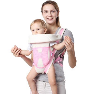 - 2-24 Months 15KG Breathable Multifunctional Ergonomic Baby Carrier Infant Comfortable Sling Backpack Baby Kangaroo -   jetcube