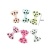 - 10 Pcs/ Lot Kids Mini Bow Whole Wrapped Safety Hair Clips Cute Solid Dot Stripe Printing Hairpins For Girls 731 - 5  jetcube