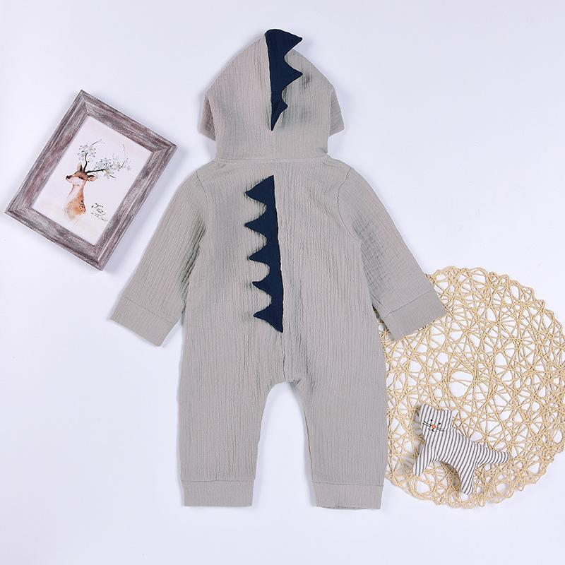 2017 Autumn spring Cotton Dinosaur Baby Romper infant toddler newborn baby boy girls romper Jumpsuits baby overalls clothes