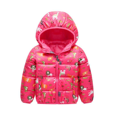 - 2-6 Years Dinosaur Pattern Girls Boys Coats 2017 Outerwear & Coats Fashion Boys Parkas Kids Clothes Warm Down Coats for Boys - 2 / 24M  jetcube