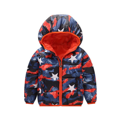 - 2-6 Years Dinosaur Pattern Girls Boys Coats 2017 Outerwear & Coats Fashion Boys Parkas Kids Clothes Warm Down Coats for Boys - 9 / 24M  jetcube
