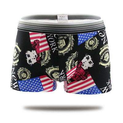 DANJIU Brand Cartoon male Underwear Sexy men's shorts men Boxer Shorts Comfortable Breathable Underpants Boxers Homme Cueca