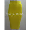 - 2014 new sexy women Fashion Luxury midi evening Party bandage Skirts blue white red black yellow purple hot pink -   jetcube