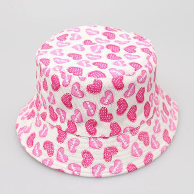- 2-6T Baby Cartoon Print Bucket Sun Hat Floral Children Summer Panama Caps Baby Girls Fisherman Straw Hat Kids Boys Topee cap - 6  jetcube