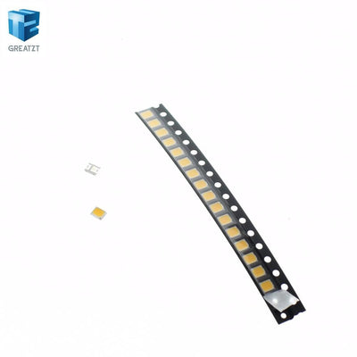 - 200PCS 21-25 LM white 2835 SMD LED 0.2W high bright chip leds NEW Free shipping Hot -   jetcube