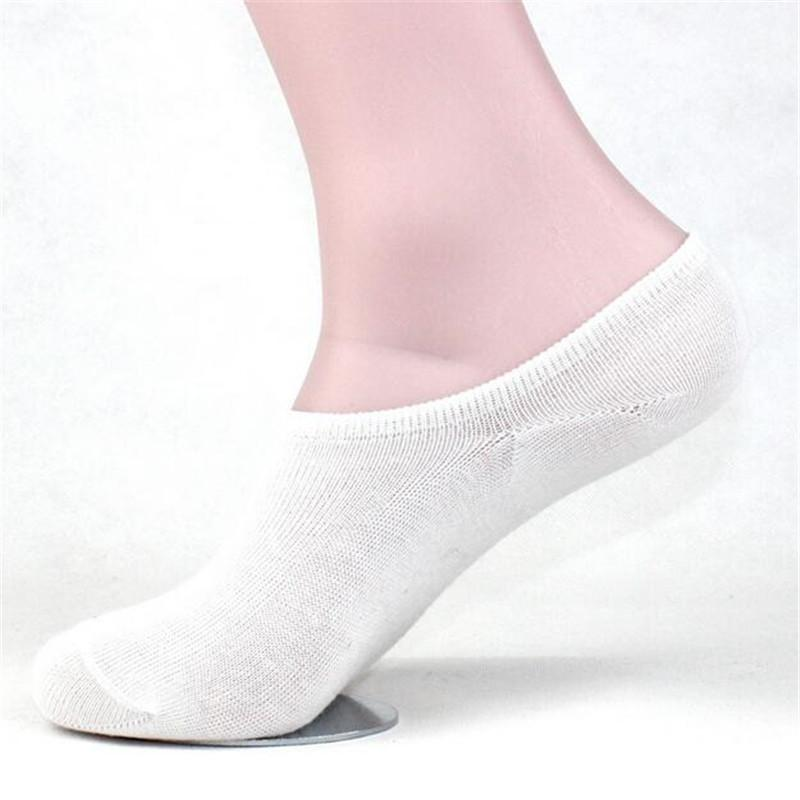 - 10 Pair Summer Cotton Women's Short Socks Breathable Non-slip Pure Color Socks Slippers Absorb Sweat Invisible Socks -   jetcube