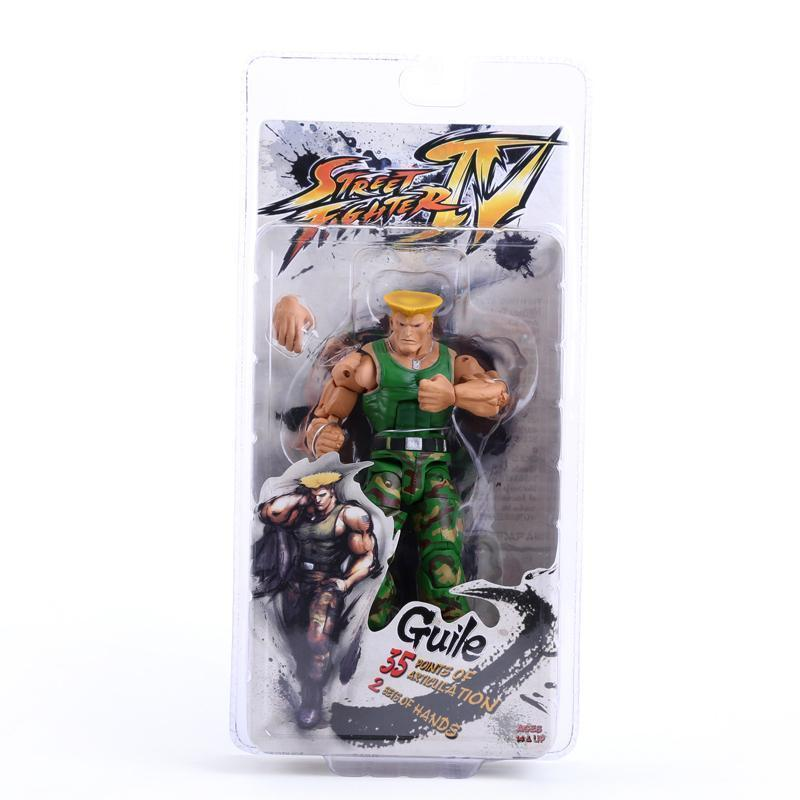 2021 Retail NECA Player Select Street Fighter IV Survival