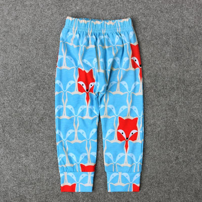 - 0-24M Baby Boy Cartoon Animal Trousers Kids Newbron Dinosaur Leopard Print Infant Toddler Casual Loose Long Pant - TZ217F / 12M  jetcube