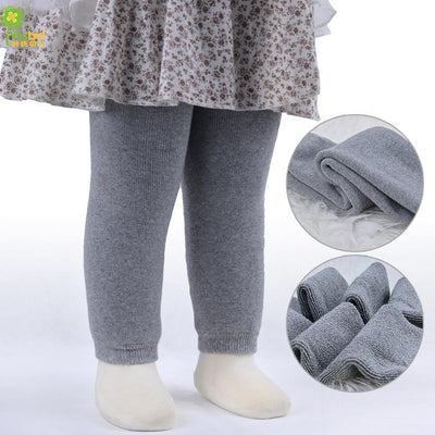 - 0-24m baby legging four colors white black gray pink kid cotton baby girl boy pant -   jetcube